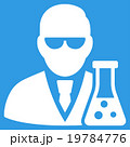 Scientist With Flask Icon 19784776