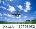 飛行機 旅客機 航空機の写真 19793952