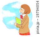 女子高生 青空 19794054