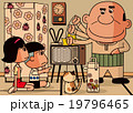 昭和の光景「昭和時代のテレビの直し方」 19796465
