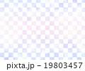 市松模様 格子柄 背景素材のイラスト 19803457