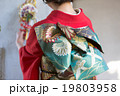 Furisode (kimono with long, trailing sleeves) 19803958