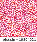 ハートのパターン カラーミックス テクスチャ 19804021
