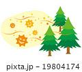 花粉 花粉イメージ 杉花粉のイラスト 19804174