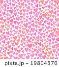 ハートのパターン カラーミックス テクスチャ 19804376