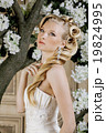 beauty young bride alone in luxury vintage 19824995