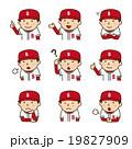 表情_野球選手 19827909