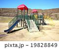 公園 遊具 滑り台の写真 19828849