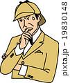 考え込む探偵 19830148