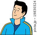 ジャージ姿の30代男性 19830324