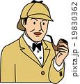 パイプを持つ探偵 19830362