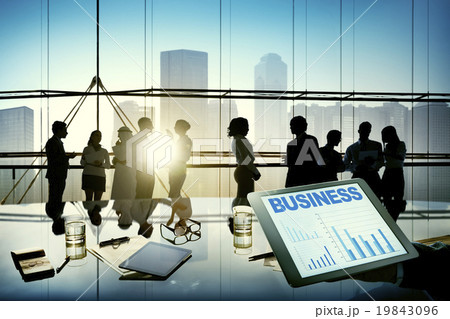 Business People Meeting Discussion Communication Conceptの写真素材 [19843096] - PIXTA