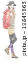 山登りのファッション 19845863
