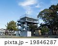 タワー 建物 避難塔の写真 19846287