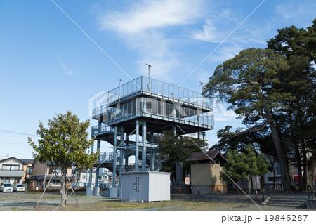 津波 避難タワー 19846287