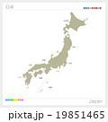 日本地図 19851465