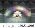 光のアート、かまくらのスケッチ 19851896