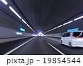 トンネル 高速道路 スピードの写真 19854544