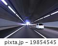 トンネル 高速道路 スピードの写真 19854545