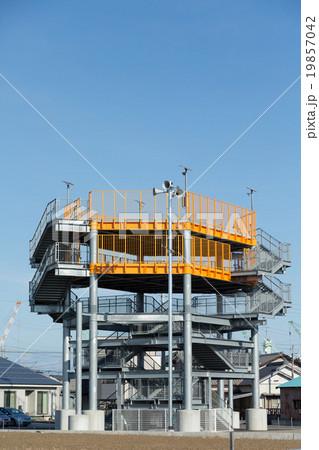 津波 避難タワー 19857042