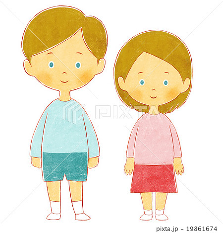 男の子と女の子 19861674