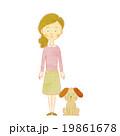 母と犬 19861678