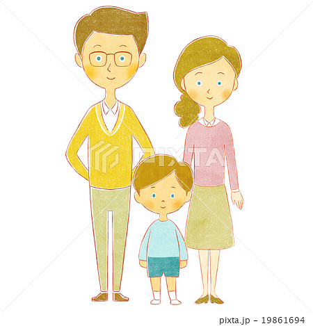 父と娘と息子 19861694