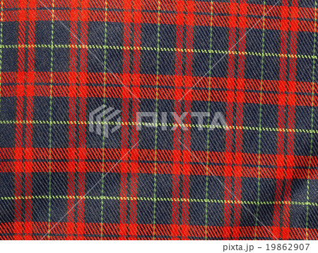 Tartan backgroundの写真素材 [19862907] - PIXTA
