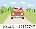 ドライブ 車 家族のイラスト 19872747