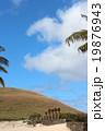 イースター島 モアイ像 遺跡の写真 19876943