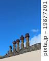 モアイ像 像 遺跡の写真 19877201