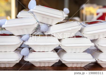 Thai food in boxの写真素材 [19880311] - PIXTA