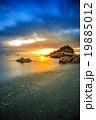 長崎 夕陽 海岸の写真 19885012