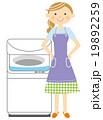 洗濯機 主婦 19892259