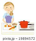 料理 主婦 19894572