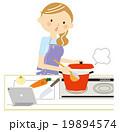 料理 タブレット 19894574