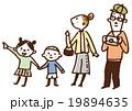 家族旅行(カラー) 19894635