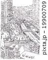 東京駅 モノクロ 19900709