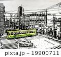 町屋駅前 水彩 19900711