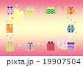 素材-バースデーカード3 19907504