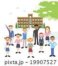 学校と学生達 19907527
