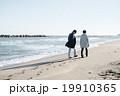 海辺の男女 19910365