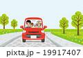 家族 ドライブ 緑のイラスト 19917407