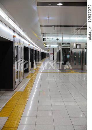 京王線 布田駅のホーム、ホーム...