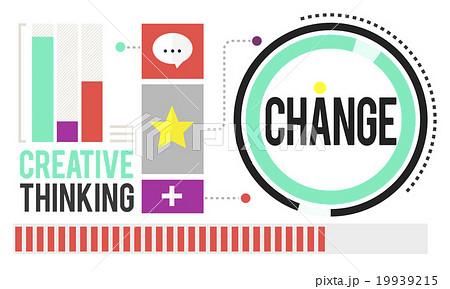 Change Improvement Development Adapting Revolution Conceptのイラスト素材 [19939215] - PIXTA