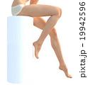 ボディーパーツ 脚 スリムのイラスト 19942596