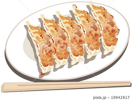 餃子のイラスト素材 19942817 Pixta