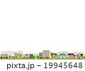 町並み 街並み 住宅街 透明背景 19945648