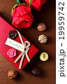 バレンタインデー チョコレート お菓子の写真 19959742