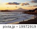 稲村ケ崎 富士山 海の写真 19972919
